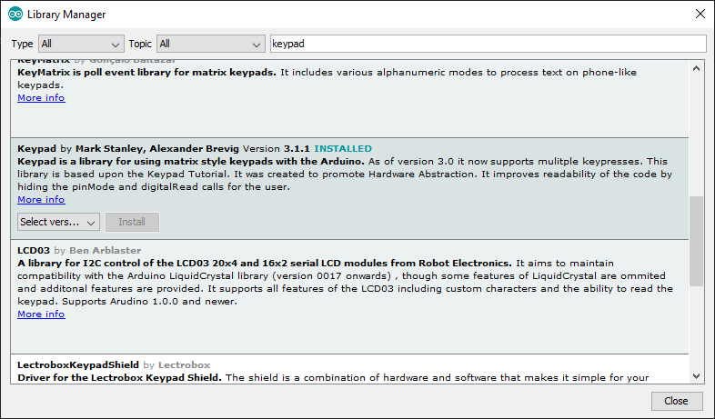 arduino-pills-2-keypad-library