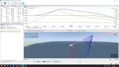 Hit: AIM-54A vs F/A-18: 35nm, 20000ft, Notching.