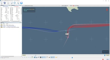 AIM-54C vs Su-27: 30nm, 30000ft, Hot. Seeker defeated.